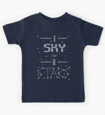 A Sky Full Of Stars + stars Kids Tee