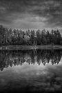 Goldwater Lake Dark by Bob Larson