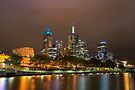 Glowing Melbourne by Raymond Warren