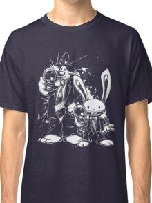 Sam & Max X Pulp Fiction (white) Classic T-Shirt