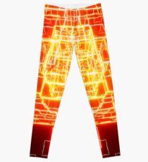 Neon Cube Leggings