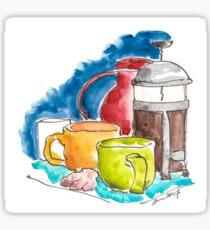Morning Coffee Ritual Sticker