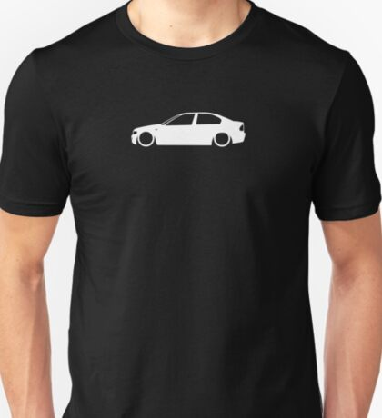 E46 Facelift German Sedan T-Shirt