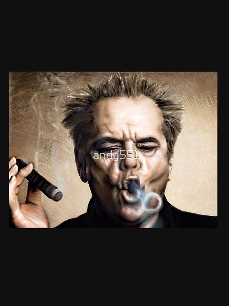 Jack Nicholson de andy551