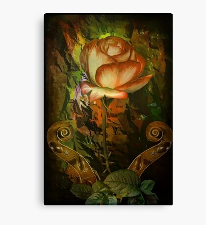 Rose An Inspiration Canvas Print
