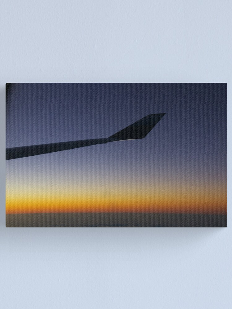 Alternate view of Dawn Over The Pacific Canvas Print
