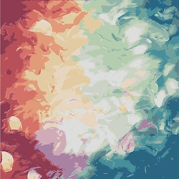 Brush Strokes Abstract Art Design by CreatedProto
