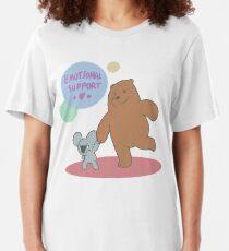 Emotional Support Slim Fit T-Shirt