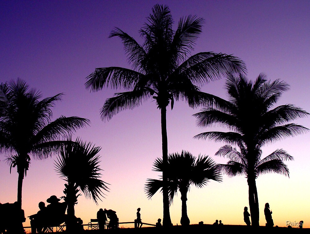 Twilight at Cable Beach by Paige