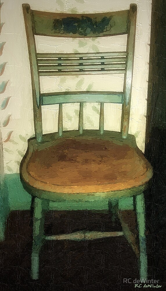 Chair in Isolated Corner by RC deWinter