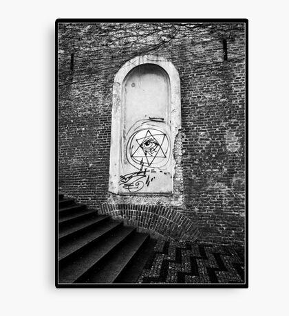 Missing Statue of the Illuminati Canvas Print