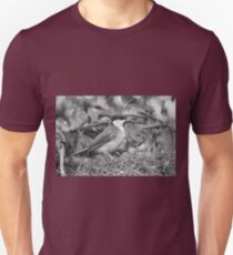Birds  b 15 (n&b)(t) by Olao-Olavia / Okaio Créations  by fz 1000 26.08.2014 Unisex T-Shirt