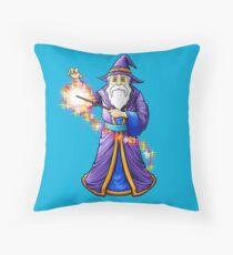 Wizard & Wand Casting A Magic Spell Floor Pillow