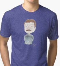 Parks and Recreation - Ron Swanson Tri-blend T-Shirt