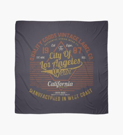 Copy of New York Vintage Hand Lettering College Design Scarf