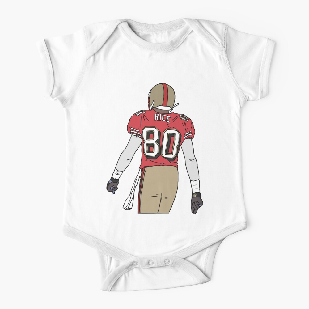 Jerry Rice Back-To Baby One-Piece