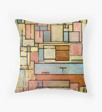 Piet Mondrian - Composition with Color Areas Dekokissen