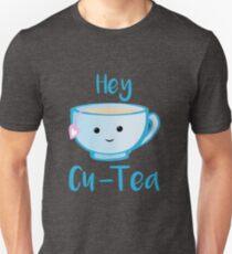 Hey Cu-tea Shirt - Tea Pun Unisex T-Shirt
