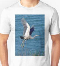 White Faced Heron Unisex T-Shirt