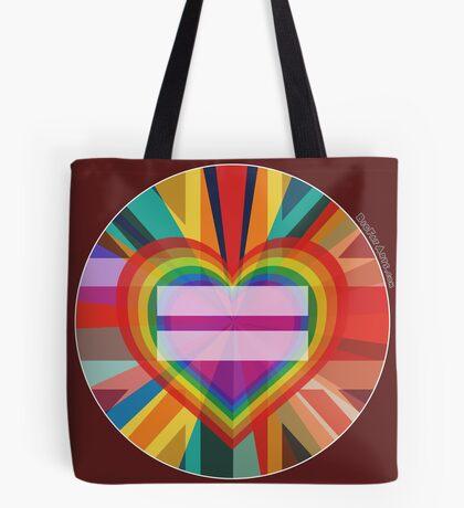 Equal Rainbow Union Tote Bag