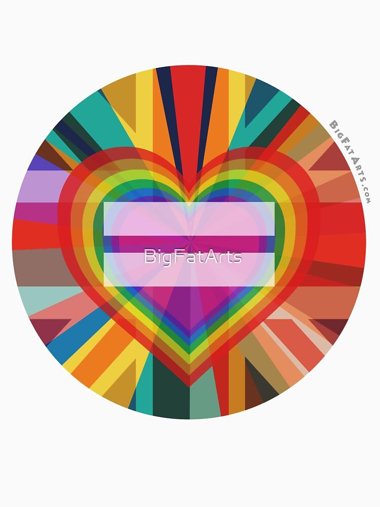 Equal Rainbow Union by BigFatArts