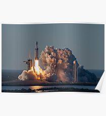 Falcon Heavy Launch Poster