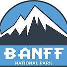 Banff National Park by esskay