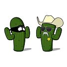 Sheriff Cactus & Robber by Adam1991