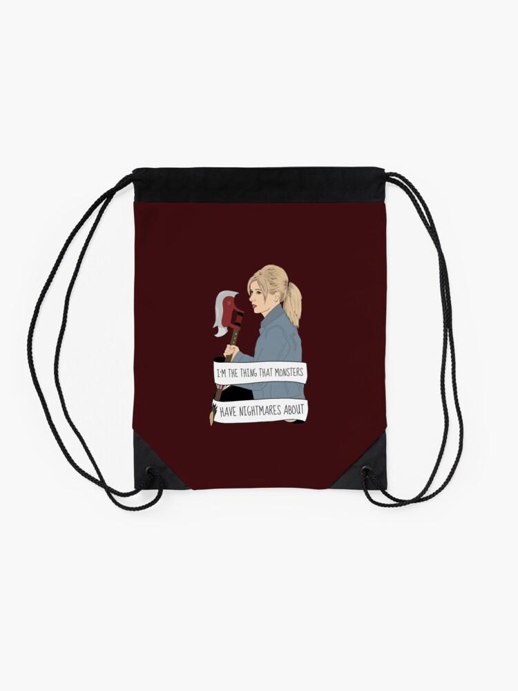 Alternate view of Buffy Summers - Chosen Drawstring Bag