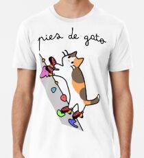 Camiseta premium para hombre Pies de Gato - Spot (Calico)