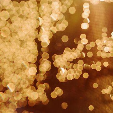 Beautiful Gold Glitter by newburyboutique