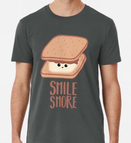 SMORE - SMILE T Shirt - Smores - Design Gifts Premium T-Shirt