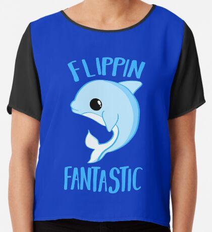 Dolphin - FLIPPING FANTASTIC Chiffon Top