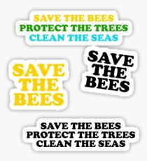Save the Bees Sticker Pack Sticker