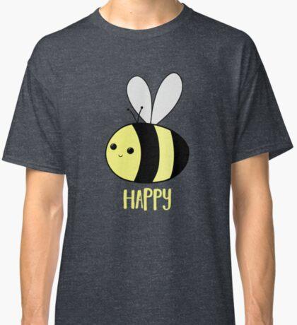BEE Happy - Bee Pun  Classic T-Shirt