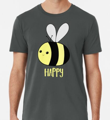 BEE Happy - Bee Pun  Premium T-Shirt