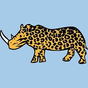 Rhinocelot (Nashorn Ozelot) von jezkemp