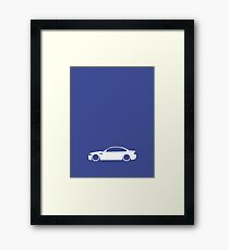 E46 German Engineering Framed Print