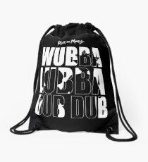 WUBBA LUBBA DUB DUB Rick and Morty Turnbeutel
