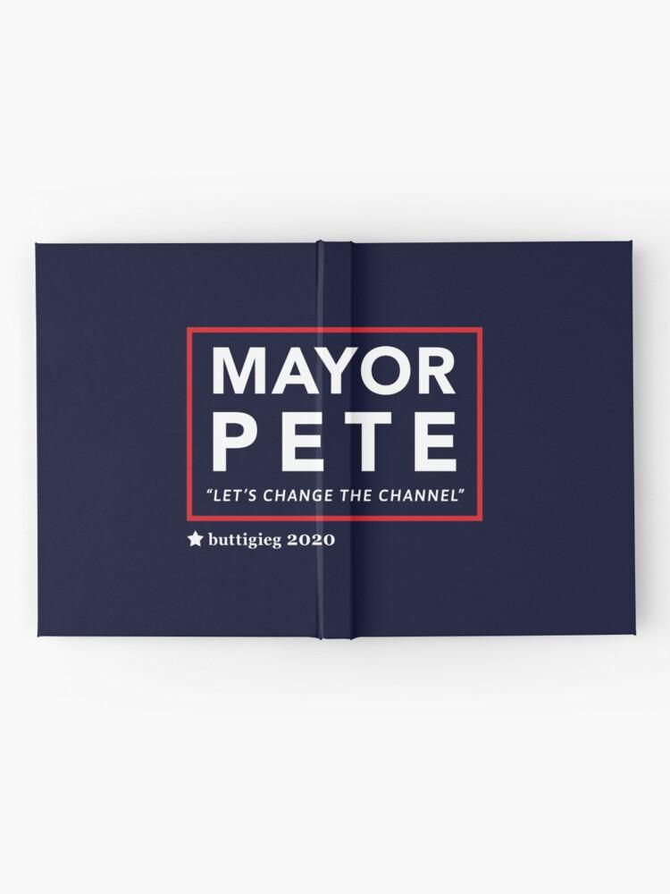 Alternative Ansicht von Bürgermeister Pete Buttigieg 2020 Notizbuch