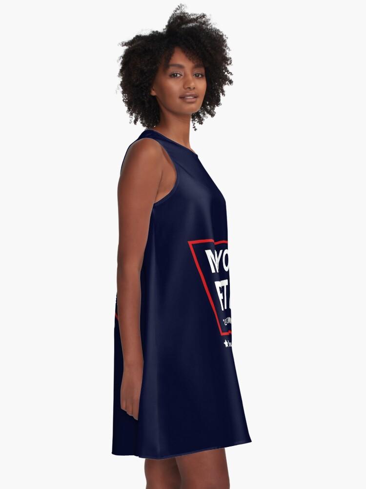 Alternative Ansicht von Bürgermeister Pete Buttigieg 2020 A-Linien Kleid