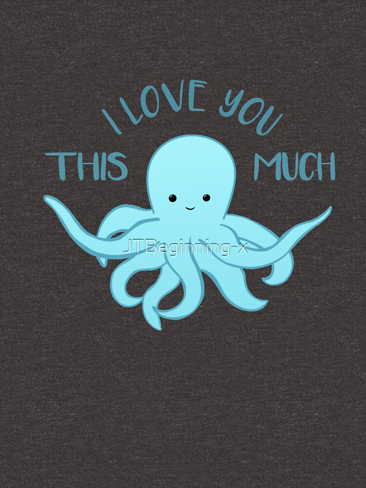 OCTOPUS Funny Pun - Funny Valentines Day Card - Anniversary Pun by JTBeginning-x