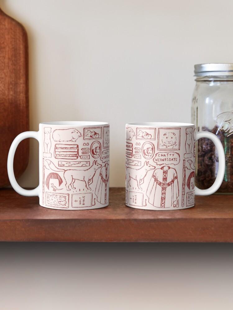 Alternate view of FLEABAG illustration Mug