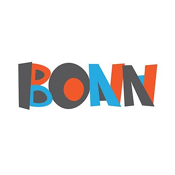 Bonn Hand Drawn Text by designkitsch