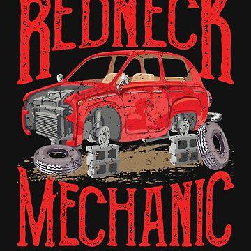 Redneck Mechanic by jaygo