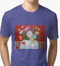 Morning Visitor Tri-blend T-Shirt
