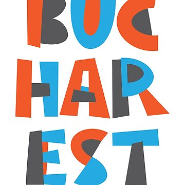Bucharest Hand Drawn Text by designkitsch