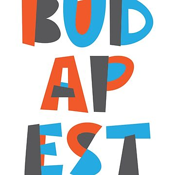 Budapest Hand Drawn Text by designkitsch