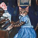 Mewcie Meown at the Piano by Ryan Conners