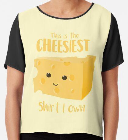Cheesy Shirt - Cheesy Gift Present Chiffon Top